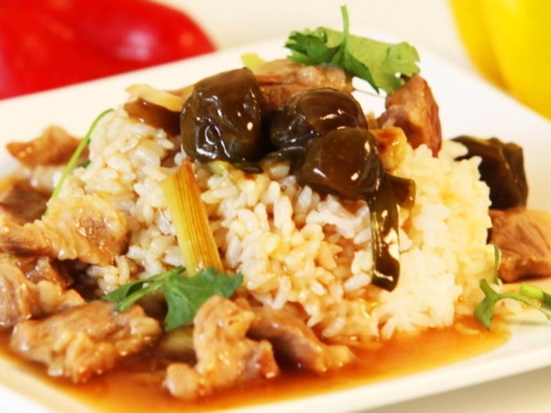 【哇菜】 梅子燒肉燴飯