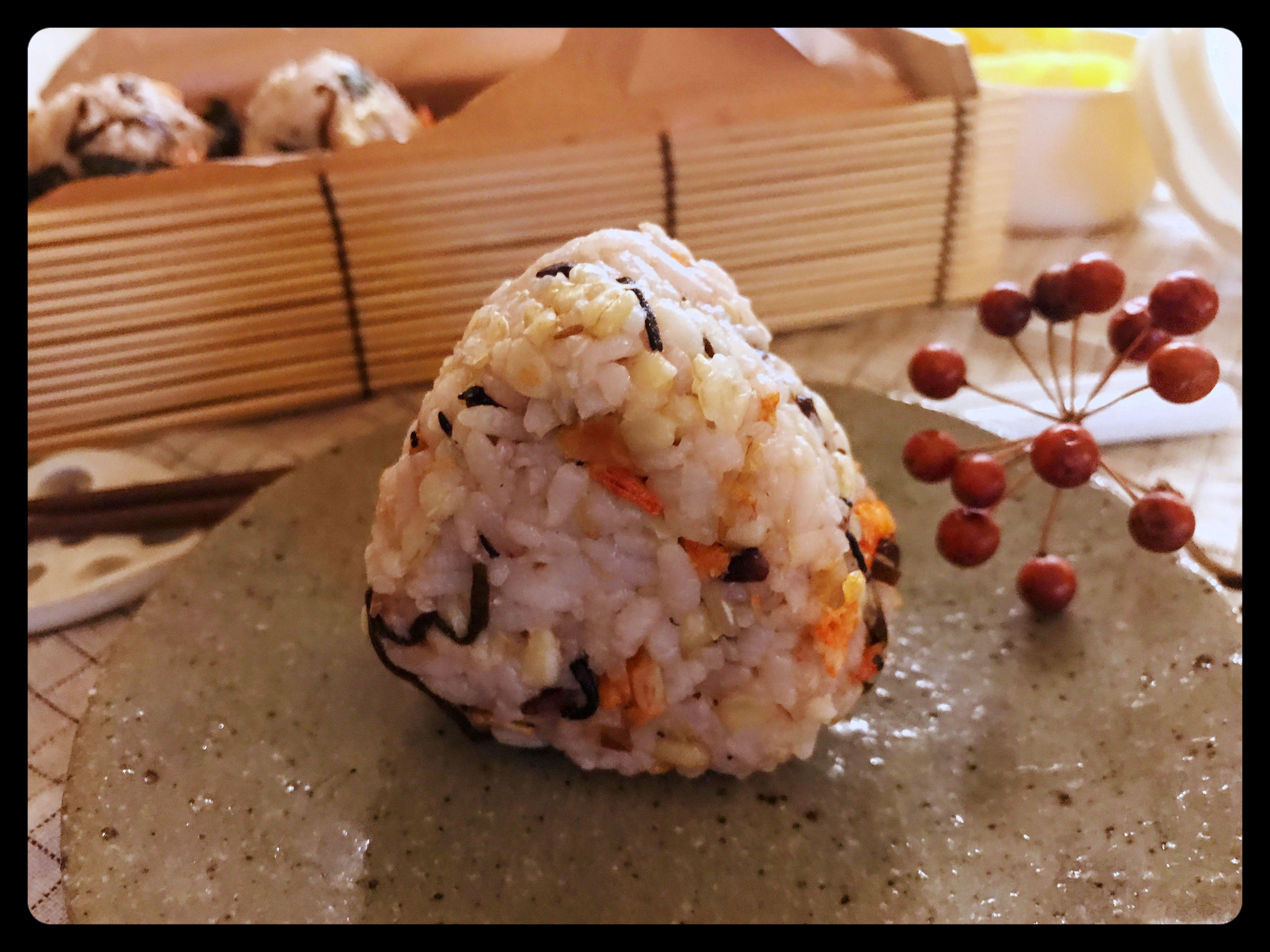 櫻花蝦飯糰 (露營OK)