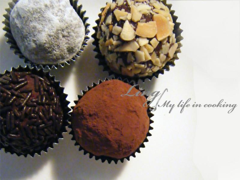 甜點♪ 松露巧克力 Chocolate Truffle