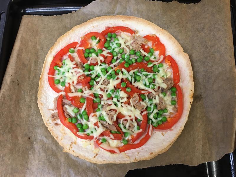 無限青椒墨西哥餅披薩