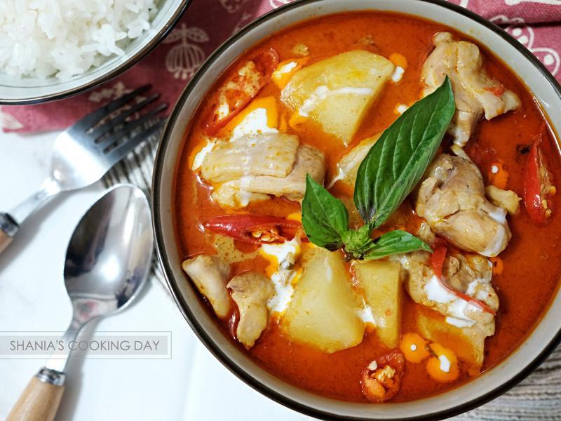 香濃泰式紅咖哩雞