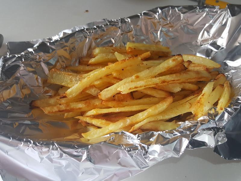 自製焗薯條