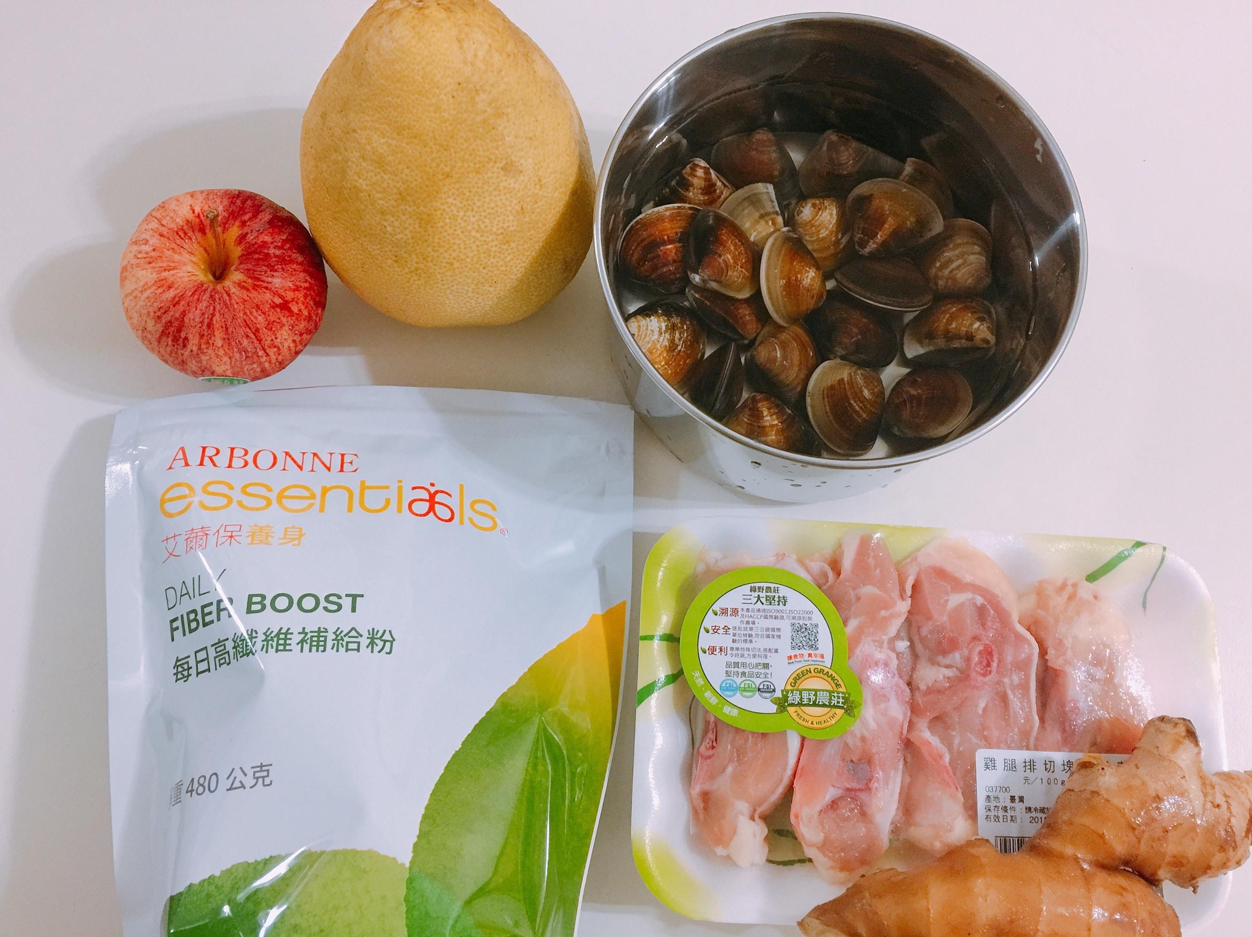 高纖蛤蠣雞湯