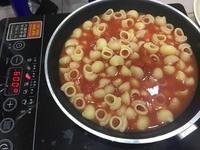 省錢版超簡易番茄義大利麵