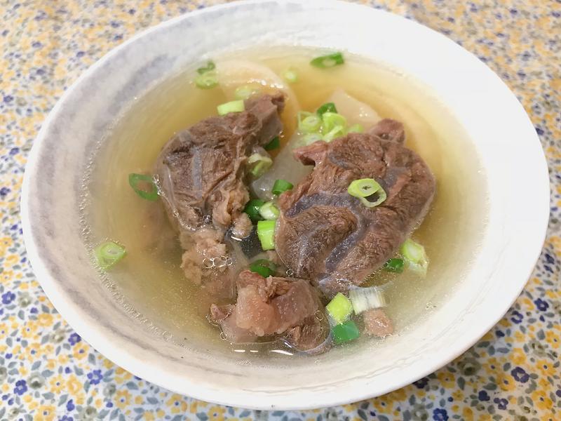 清燉牛肉湯~單純的美味