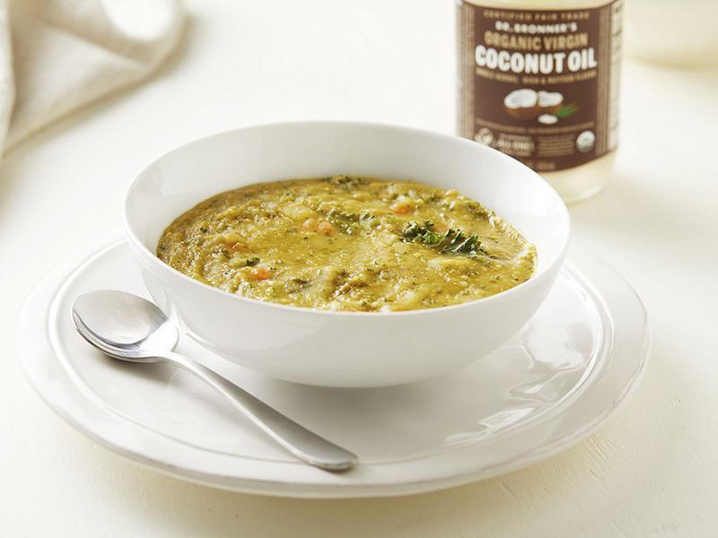 碗豆甘藍菜湯