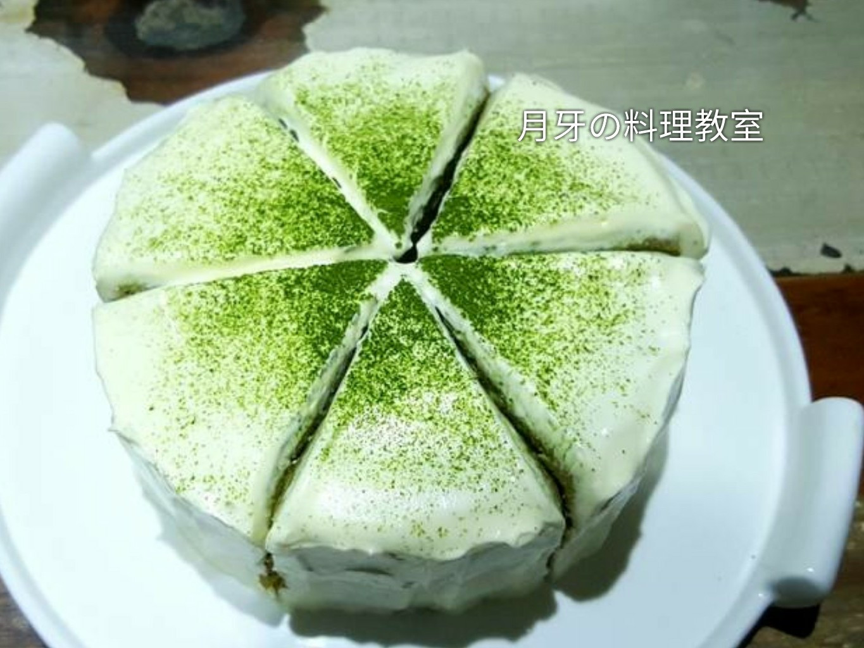 抹茶蜂蜜戚風蛋糕 (霜上翠華)