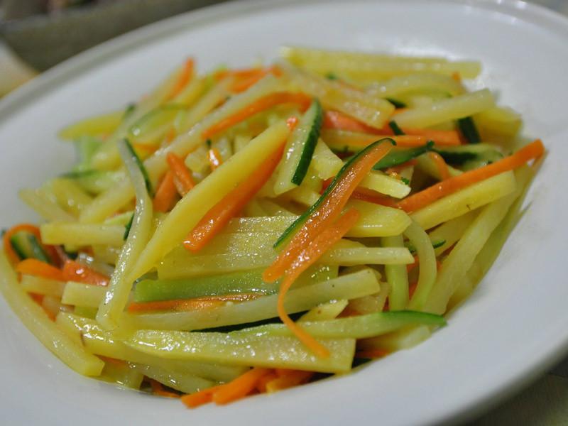 有機馬鈴薯炒食蔬