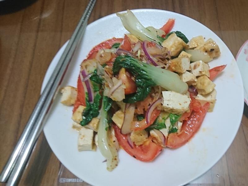 豆干奶油白菜沙拉