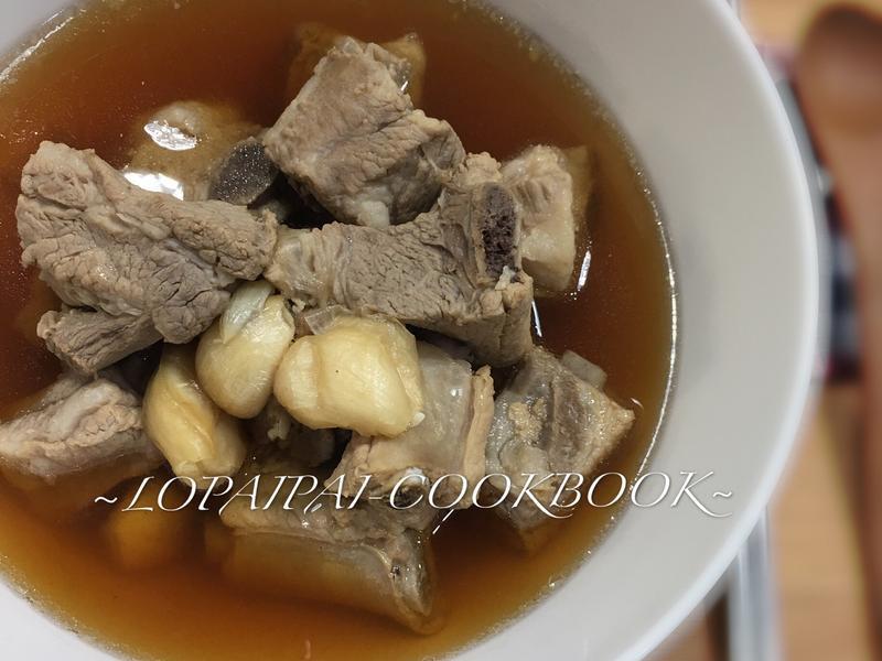 超暖、簡易電鍋版~新加坡肉骨茶