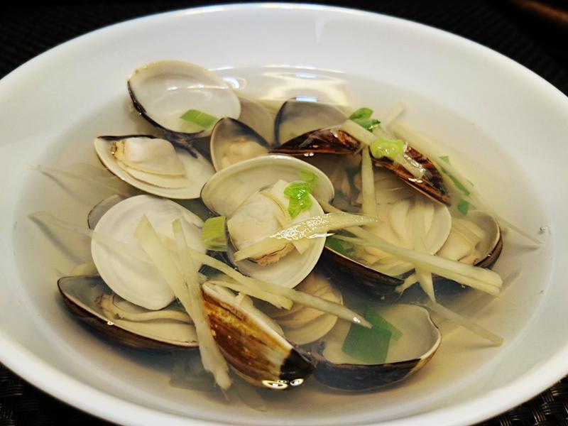 薑絲蛤蜊湯