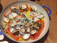 地中海式時蔬蒸魚