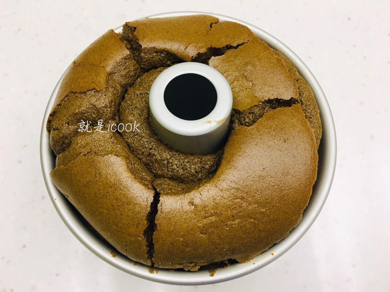 日本莖烘焙茶戚風蛋糕