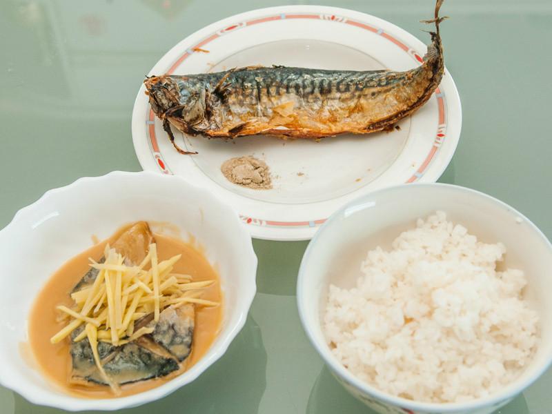 宅男大主廚 ─ 鯖魚定食 (沒有湯)
