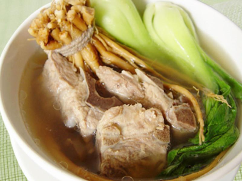 【厚生廚房】人蔘鬚排骨青蔬湯