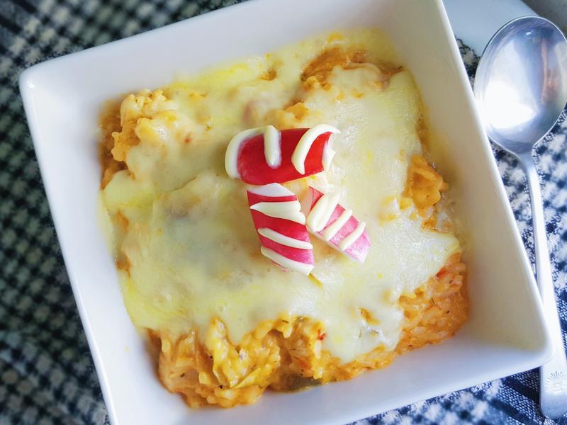 墨西哥焗雞肉飯~超簡單便當菜