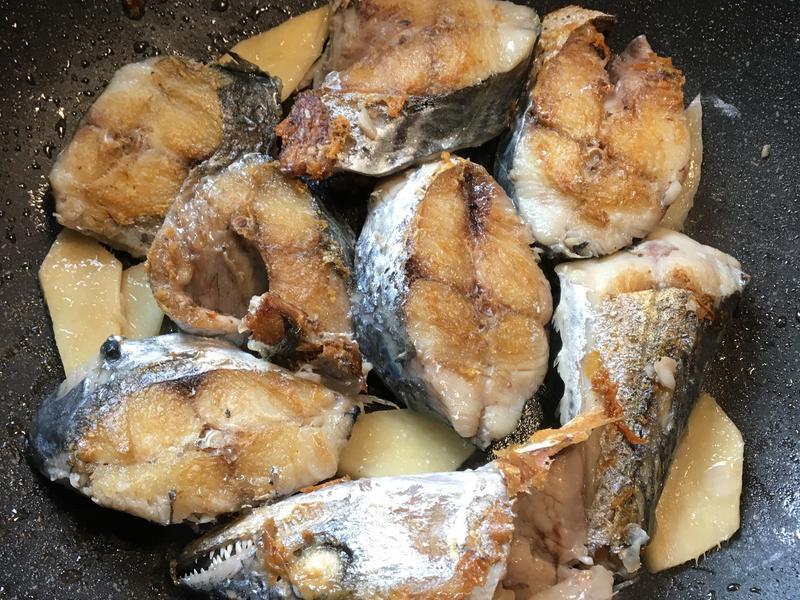 乾煎鮮鯖魚