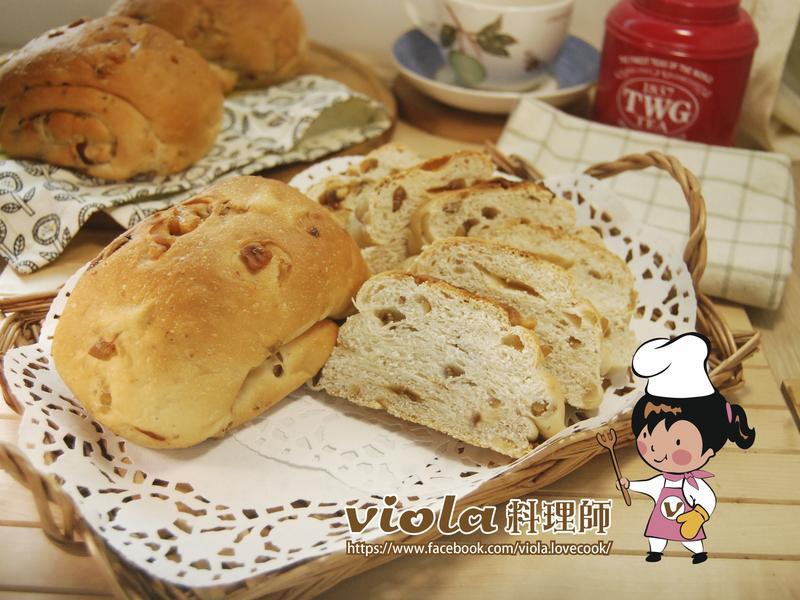 桂圓核桃麵包