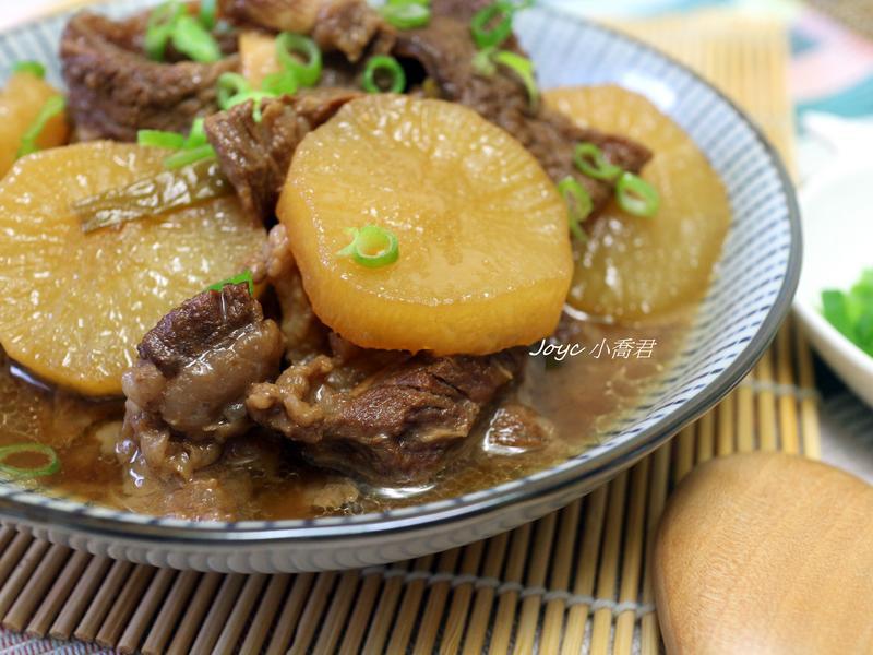好下飯!味噌蘿蔔燉牛肉