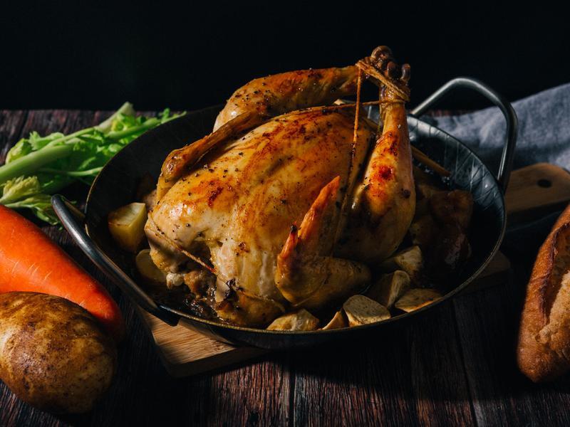 迷迭香烤全雞-薩布雷薩索雞