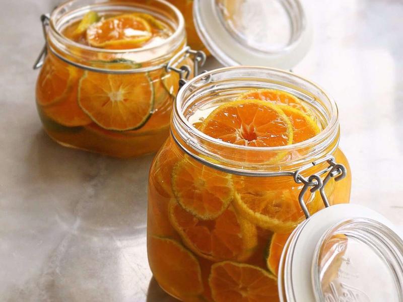 蜂蜜檸檬柳橙釀