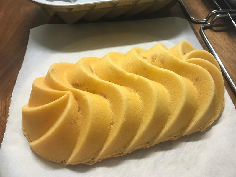 柚香蛋糕-全蛋打發