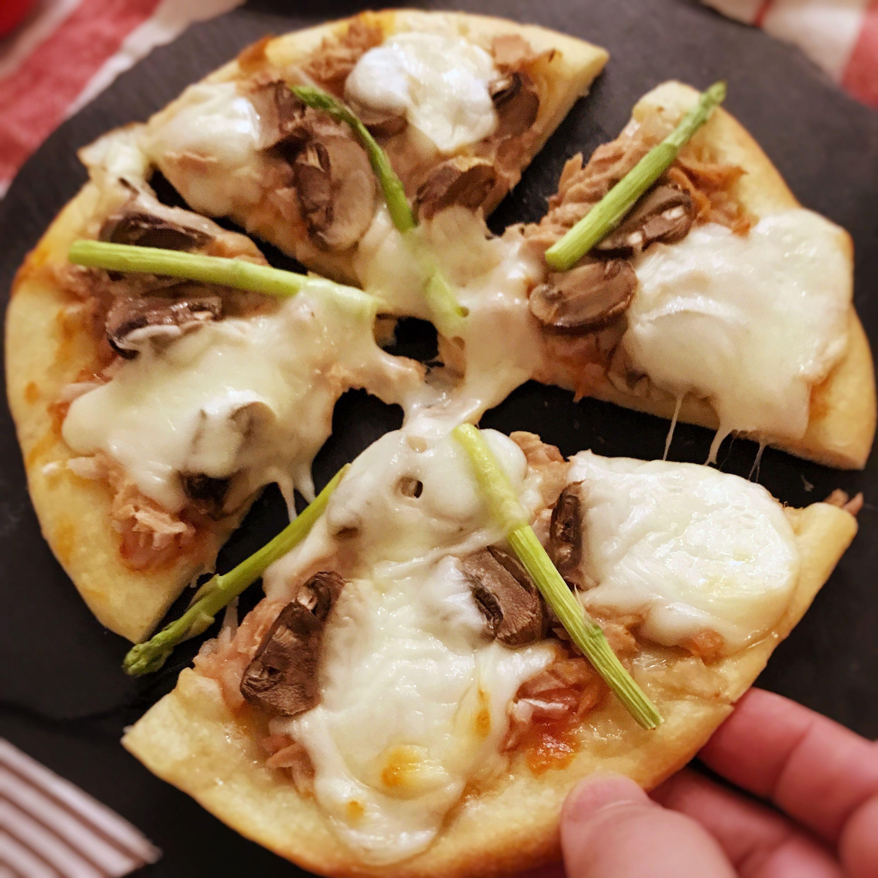 蘑菇鮪魚披薩