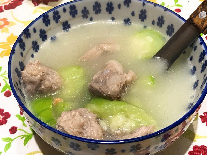 絲瓜排骨湯