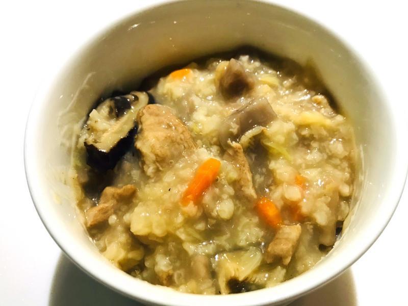 👨🏻🍳芋頭肉絲粥-大人寶寶副食品
