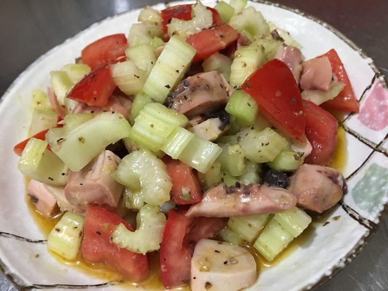 希臘式章魚沙拉