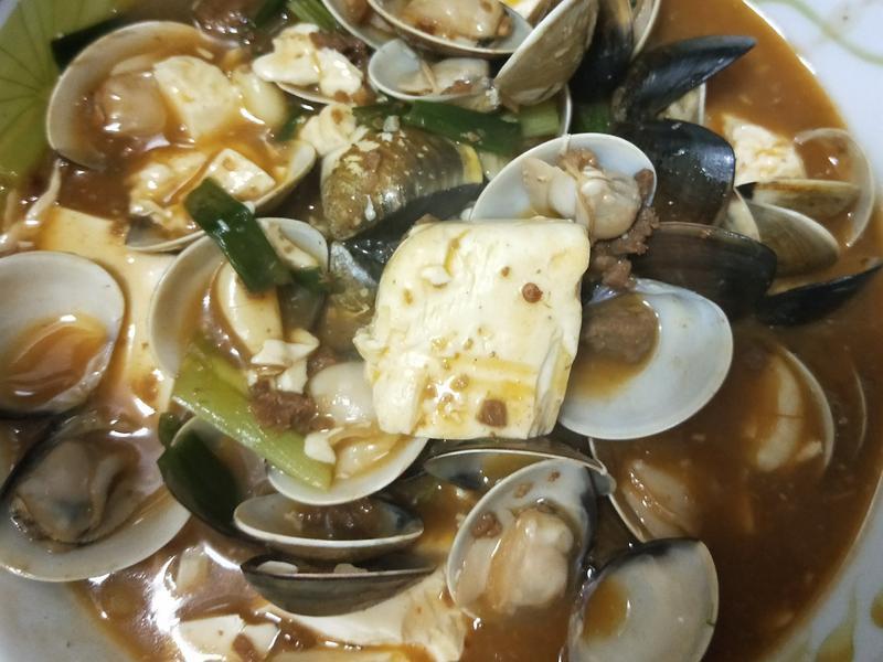 蛤蜊麻婆豆腐
