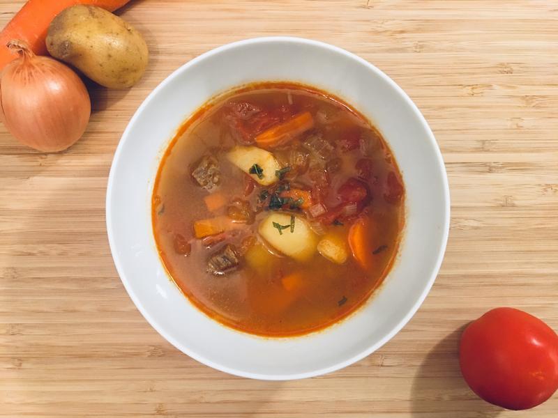 匈牙利牛肉湯 Goulash soup