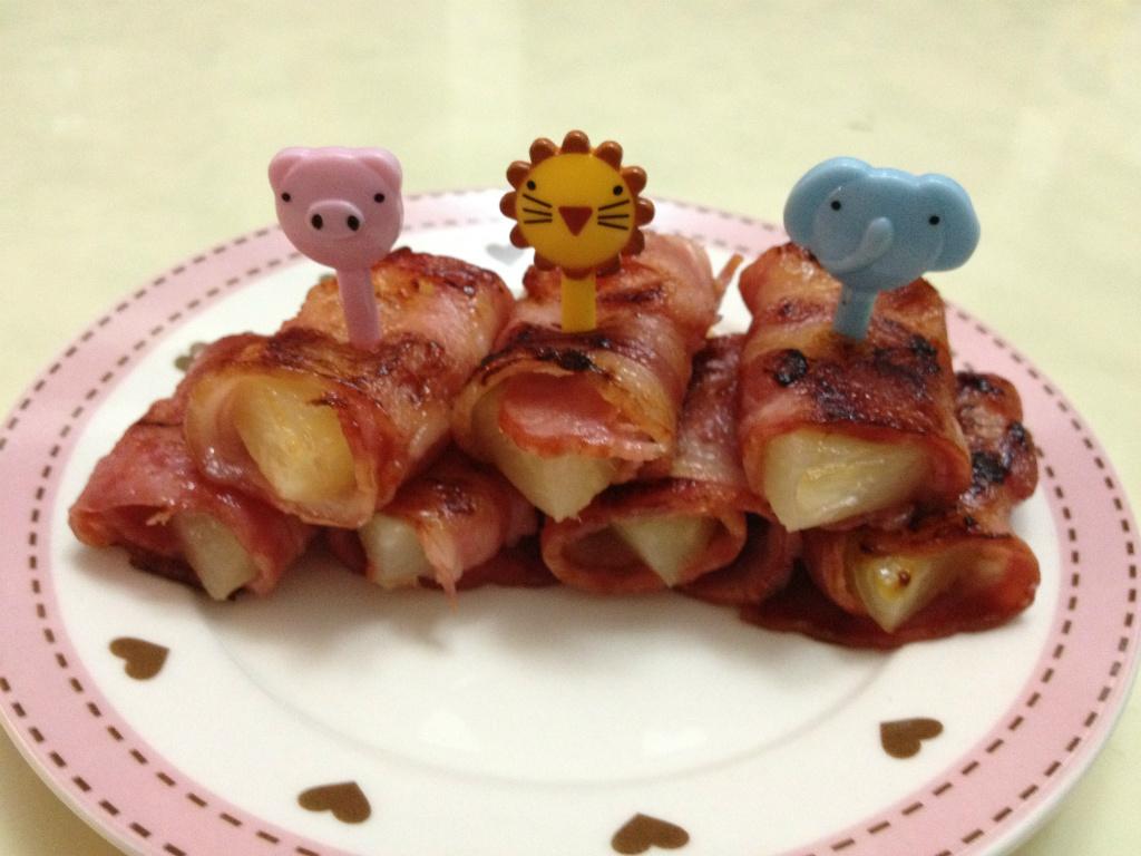 【中秋烤肉】培根鳳梨捲