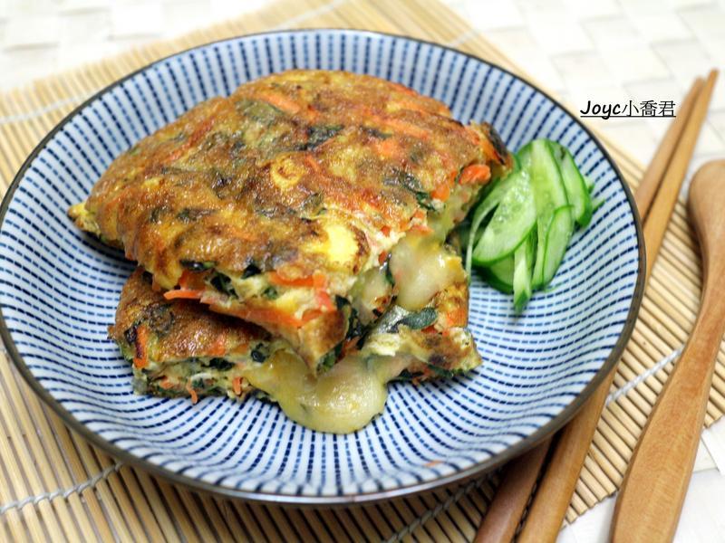 塔香蔬菜起司煎蛋(超簡單)