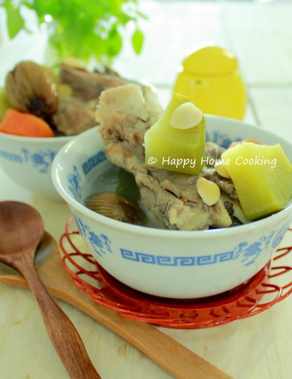 青紅蘿蔔豬骨湯 ~ 滋潤老火湯!
