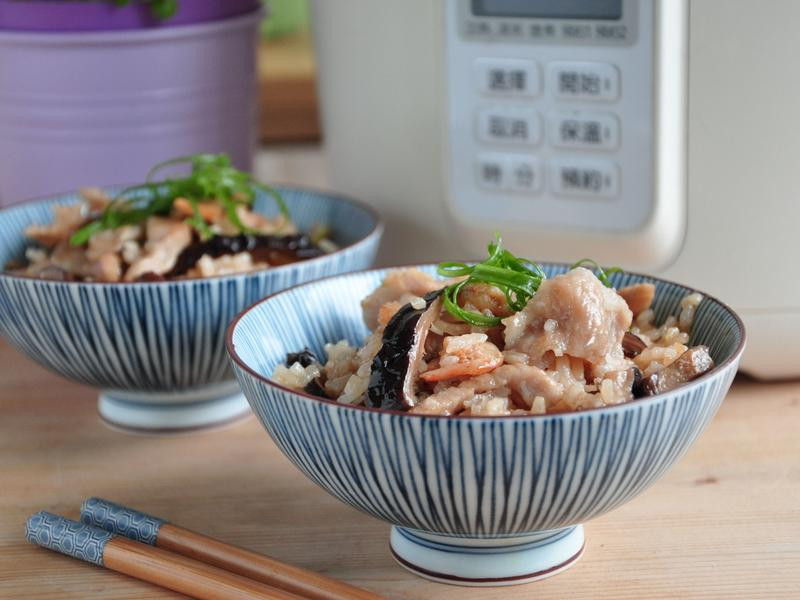 麻油松坂香菇飯