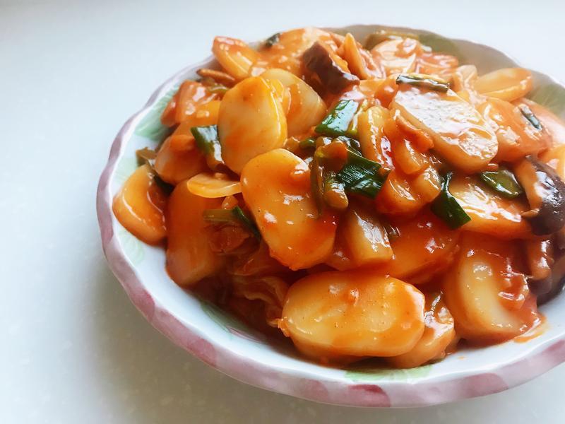 韓式炒年糕(無麩質)