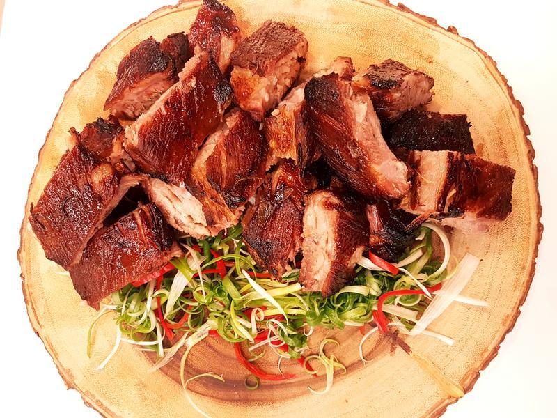 炭烤豬肋排--韓式烤肉醬