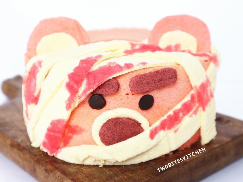 熊抱哥木乃伊戚風蛋糕