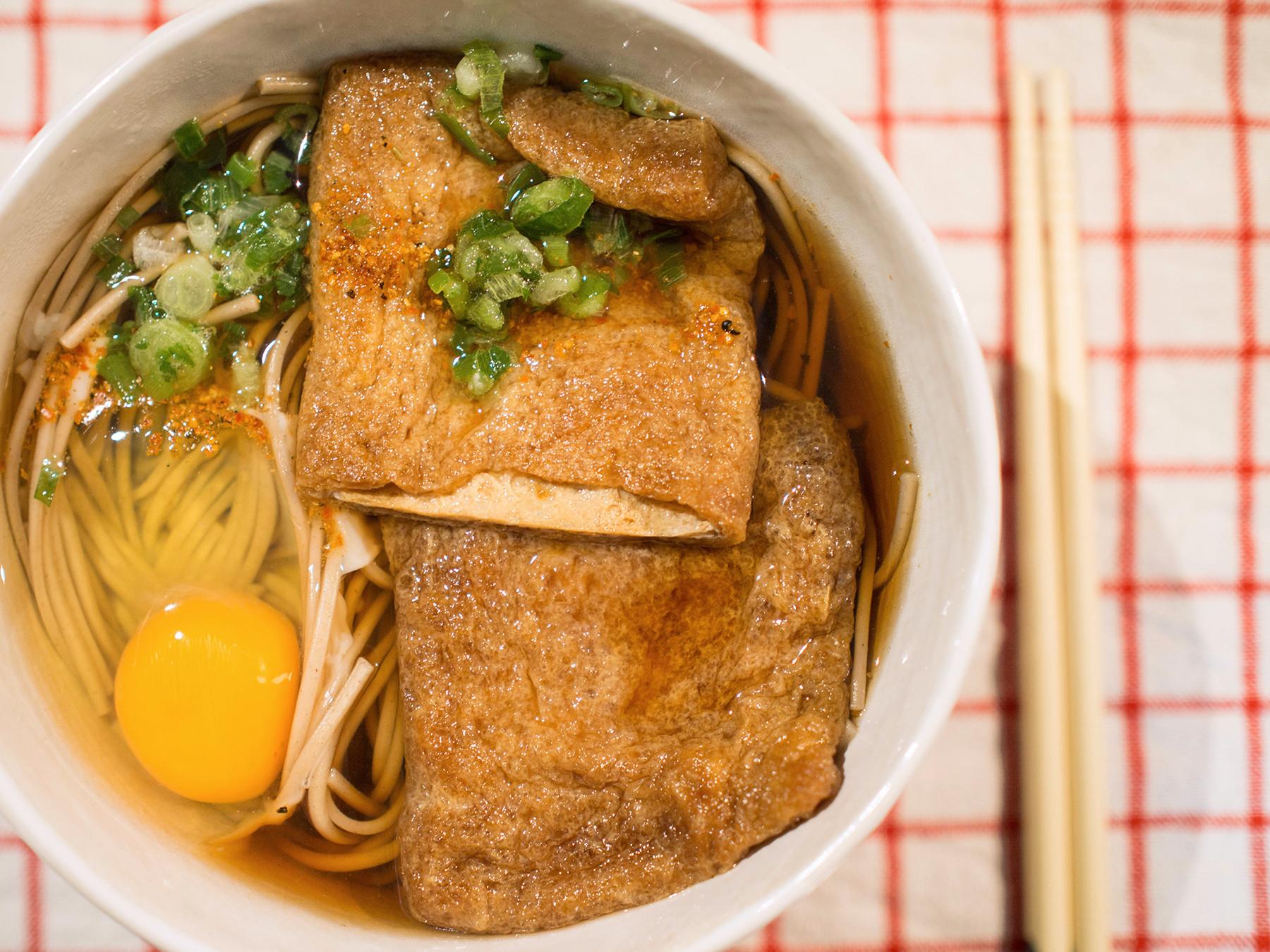 日式滷豆皮