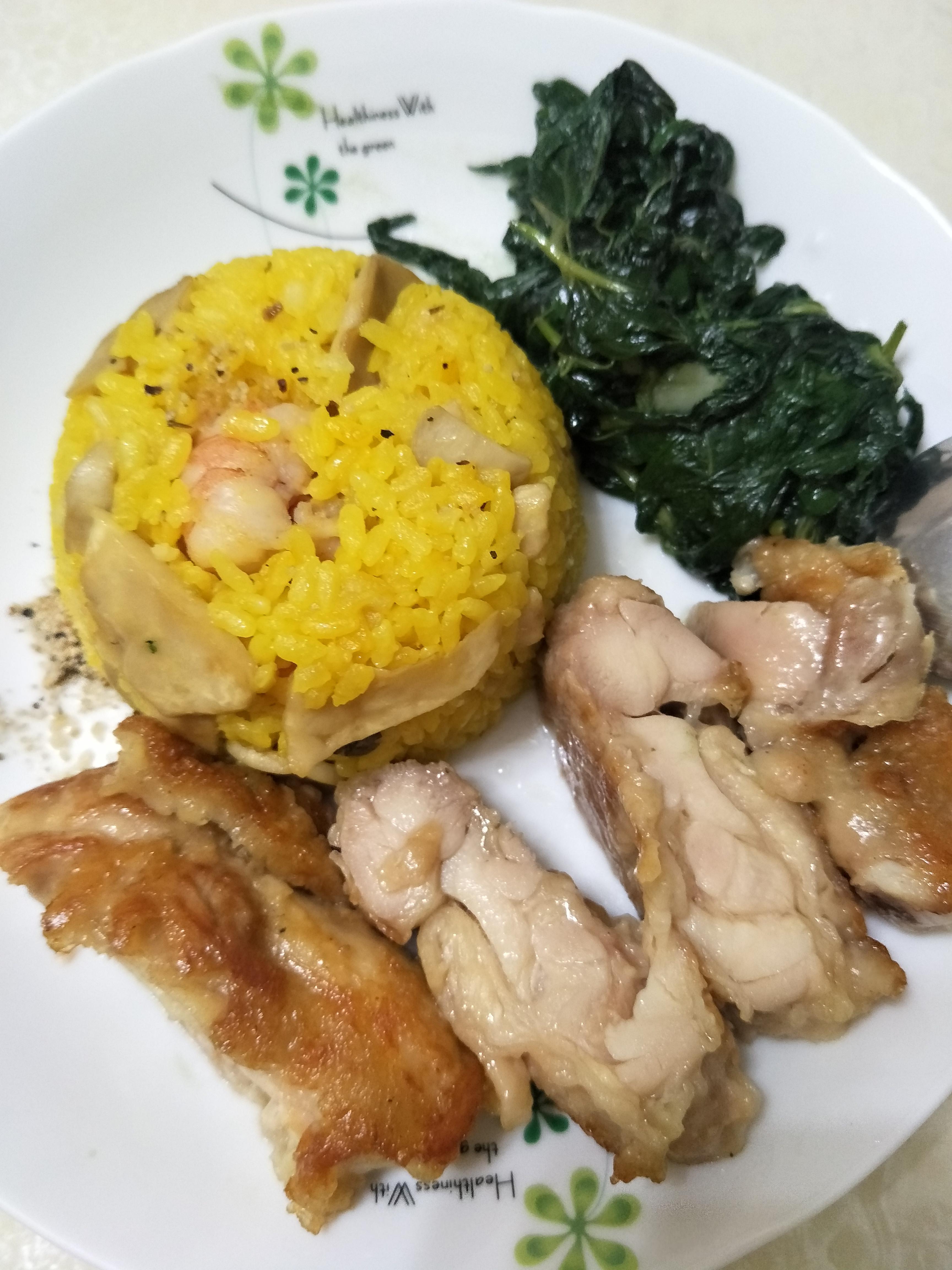 薑黃入菜-薑黃飯