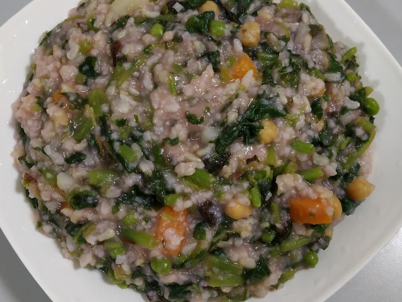 红苋马铃薯米粥
