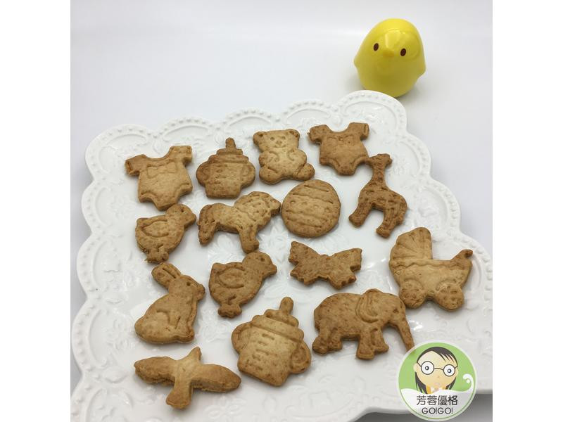 優格黑糖餅乾~寶寶餅乾