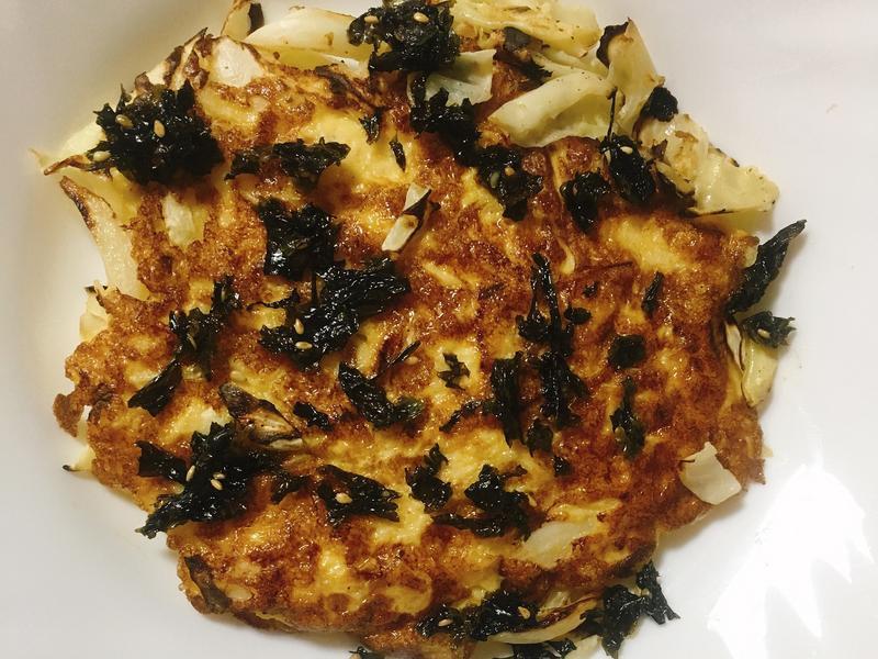 高麗菜厚蛋燒 80kcal