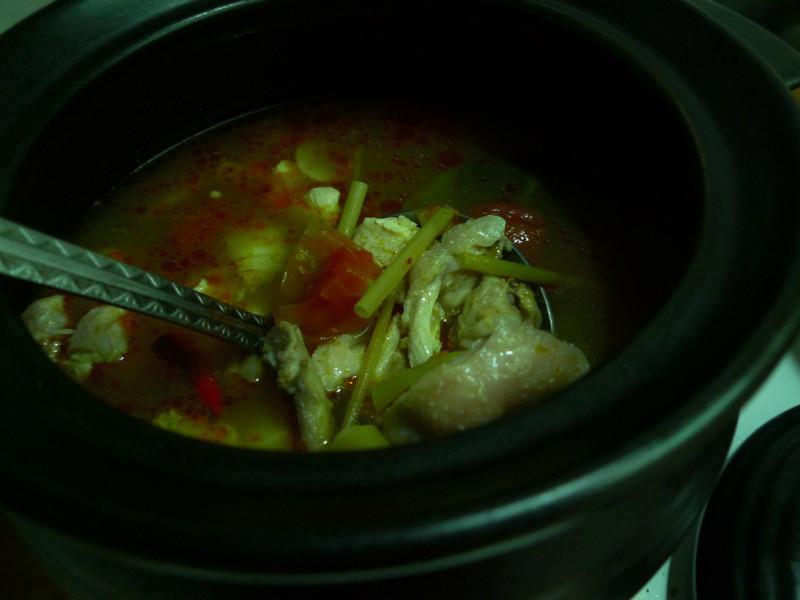泰式酸辣湯(雞肉版)