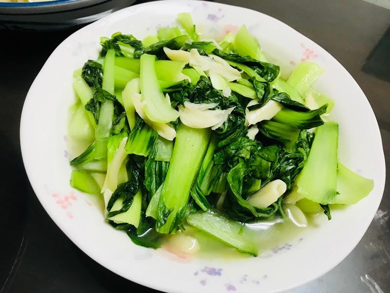 蒜炒青江菜