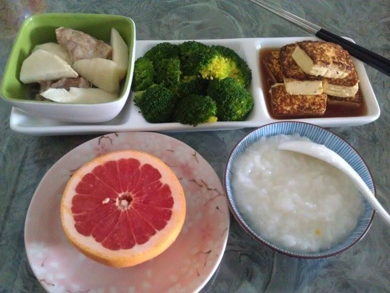 品靚上菜-【妊娠糖尿病菜單】竹筍湯+嫩煎豆腐