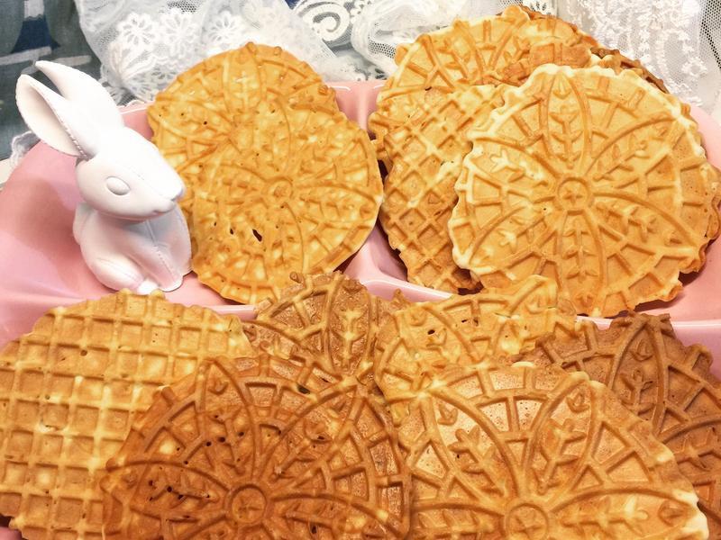 鬆餅機 蕾絲餅乾 極度酥脆版~純蛋白配方