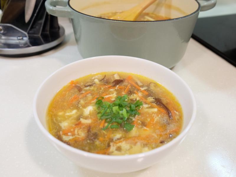 簡單做酸辣湯
