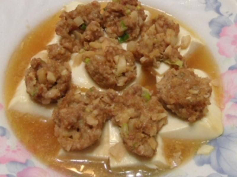 豆腐釀鑲肉